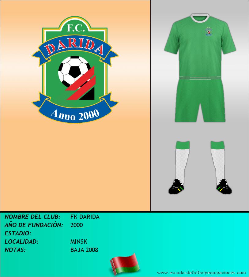 Escudo de FK DARIDA