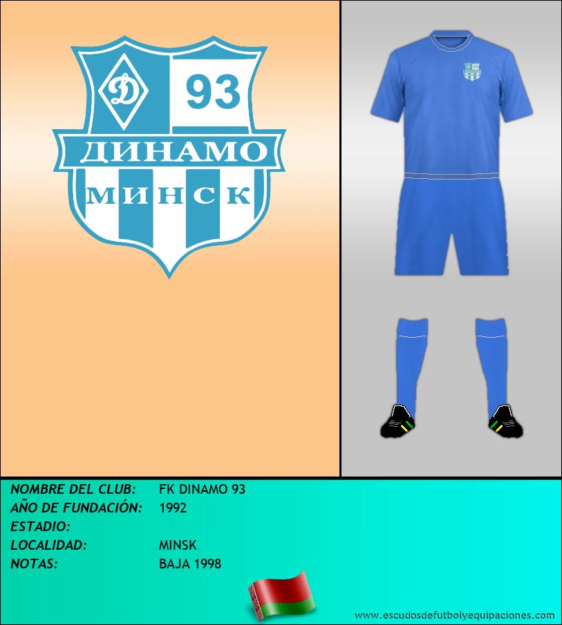 Escudo de FK DINAMO 93