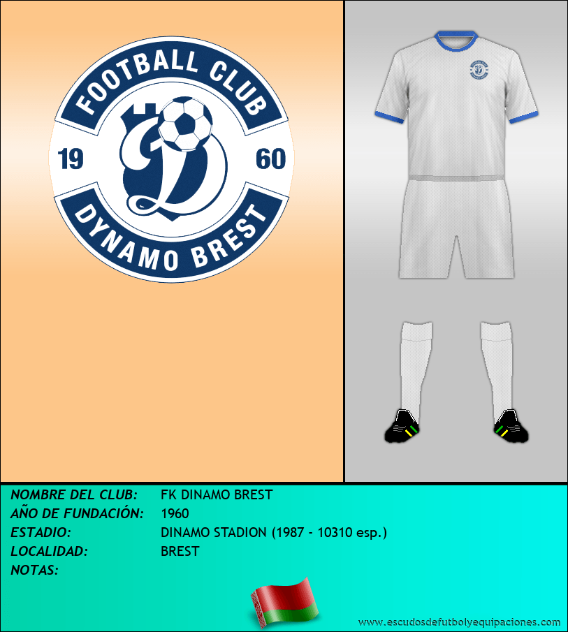 Escudo de FK DINAMO BREST