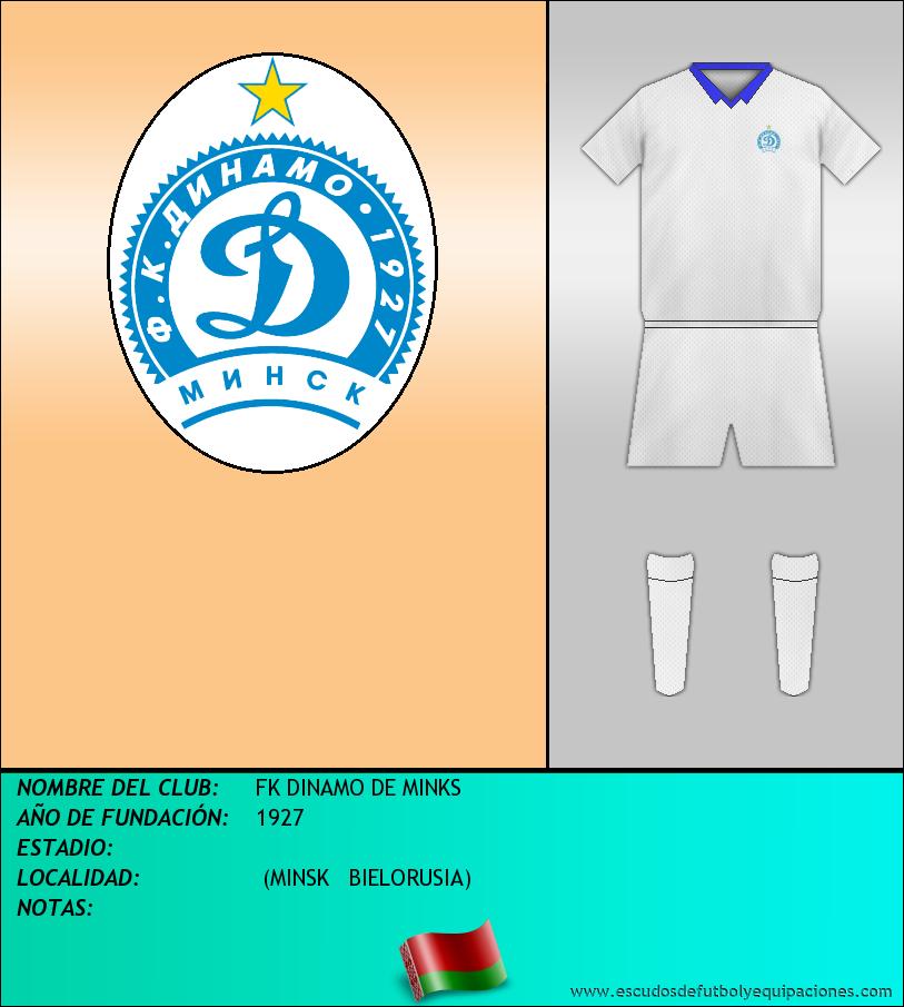 Escudo de FK DINAMO DE MINKS