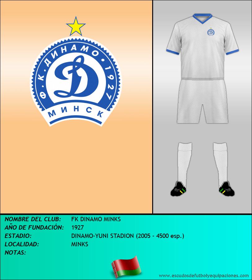 Escudo de FK DINAMO MINKS