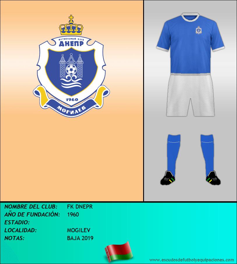 Escudo de FK DNEPR