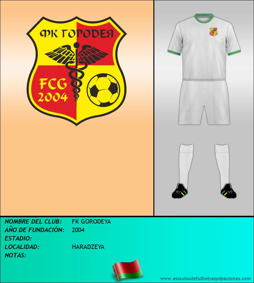 Escudo de FK GORODEYA
