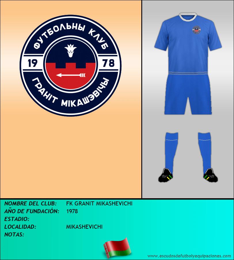 Escudo de FK GRANIT MIKASHEVICHI