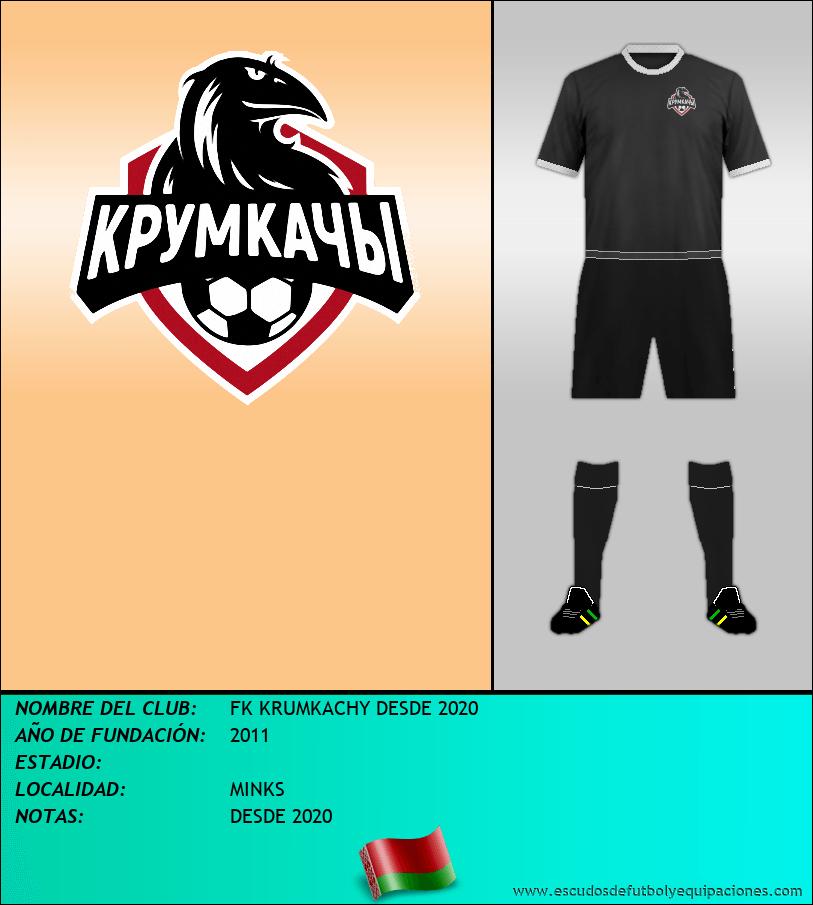 Escudo de FK KRUMKACHY DESDE 2020