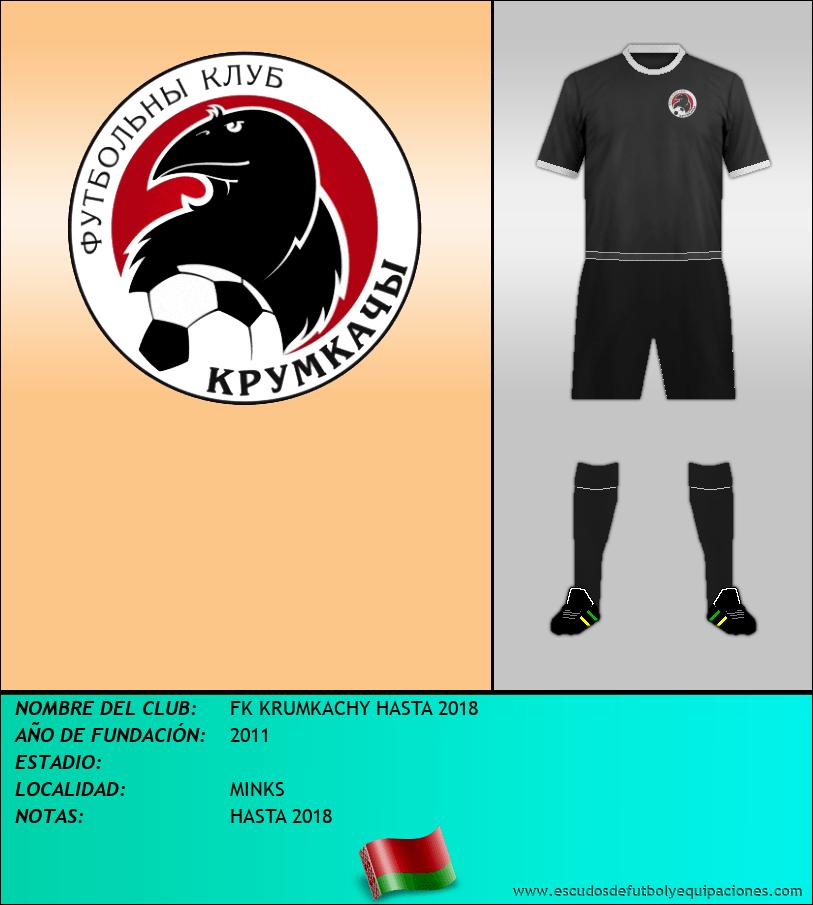 Escudo de FK KRUMKACHY HASTA 2018