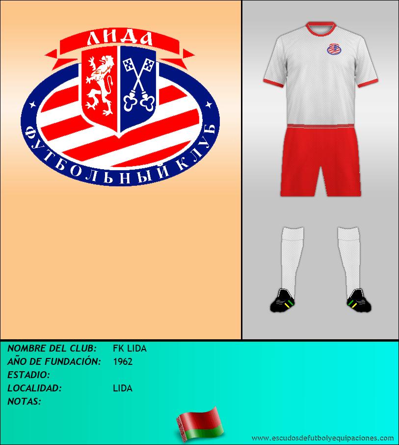 Escudo de FK LIDA