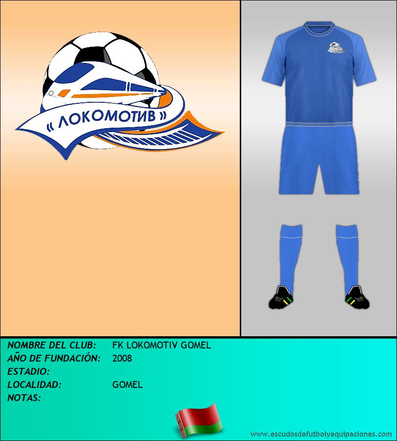 Escudo de FK LOKOMOTIV GOMEL