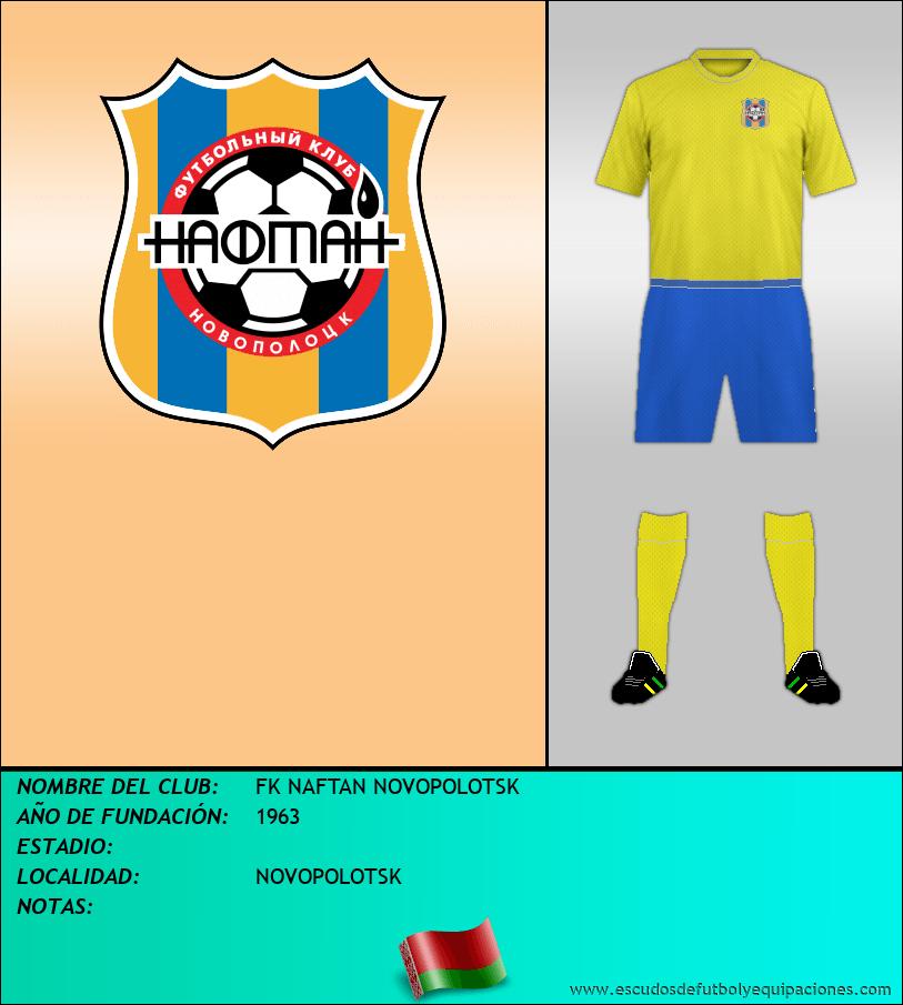 Escudo de FK NAFTAN NOVOPOLOTSK