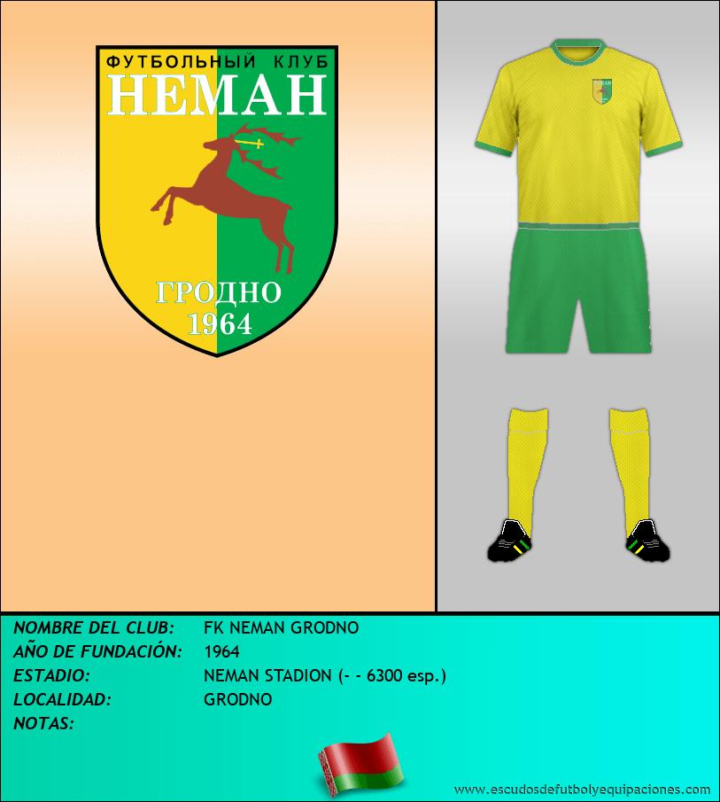 Escudo de FK NEMAN GRODNO