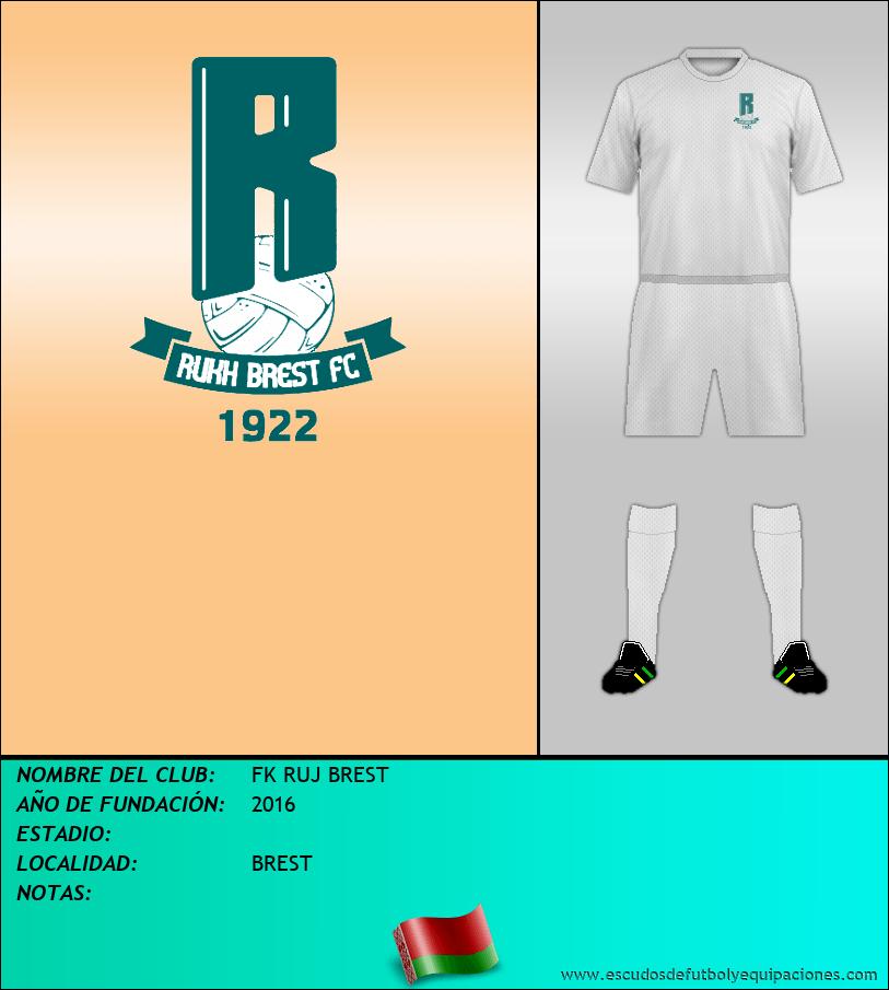 Escudo de FK RUJ BREST