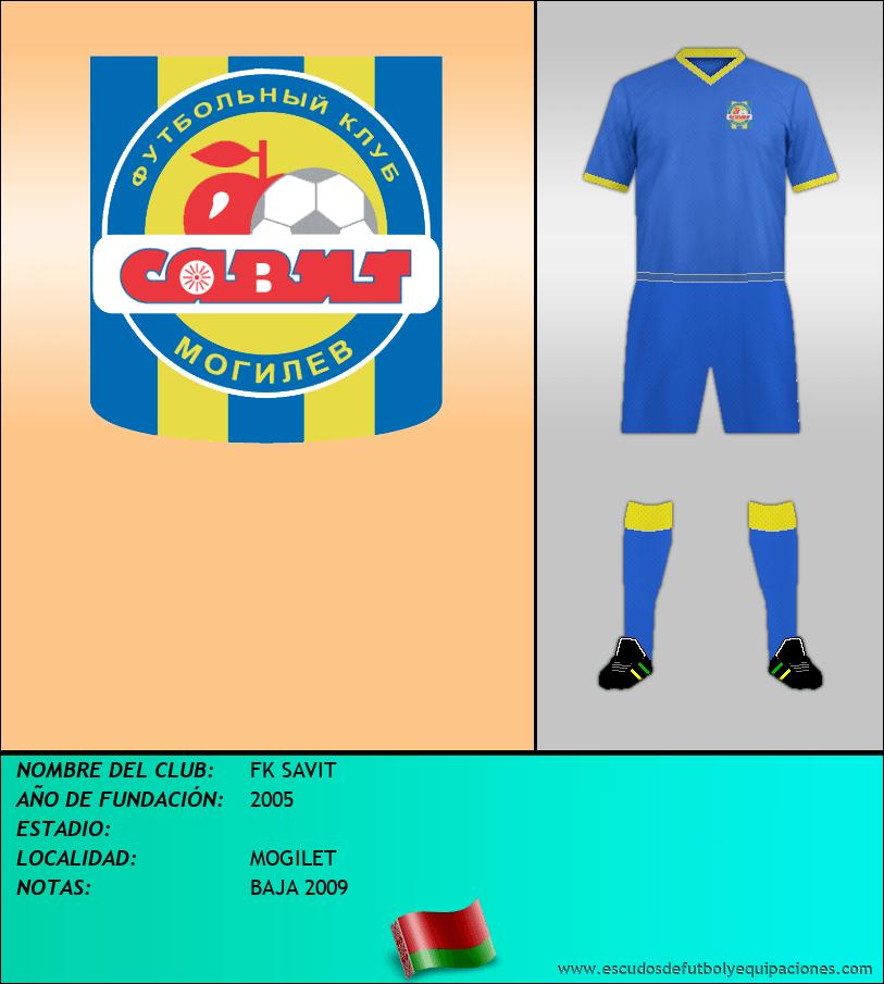 Escudo de FK SAVIT