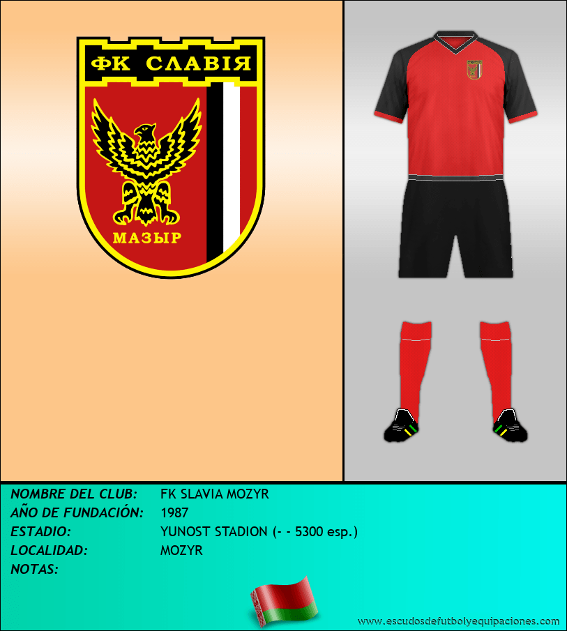 Escudo de FK SLAVIA MOZYR