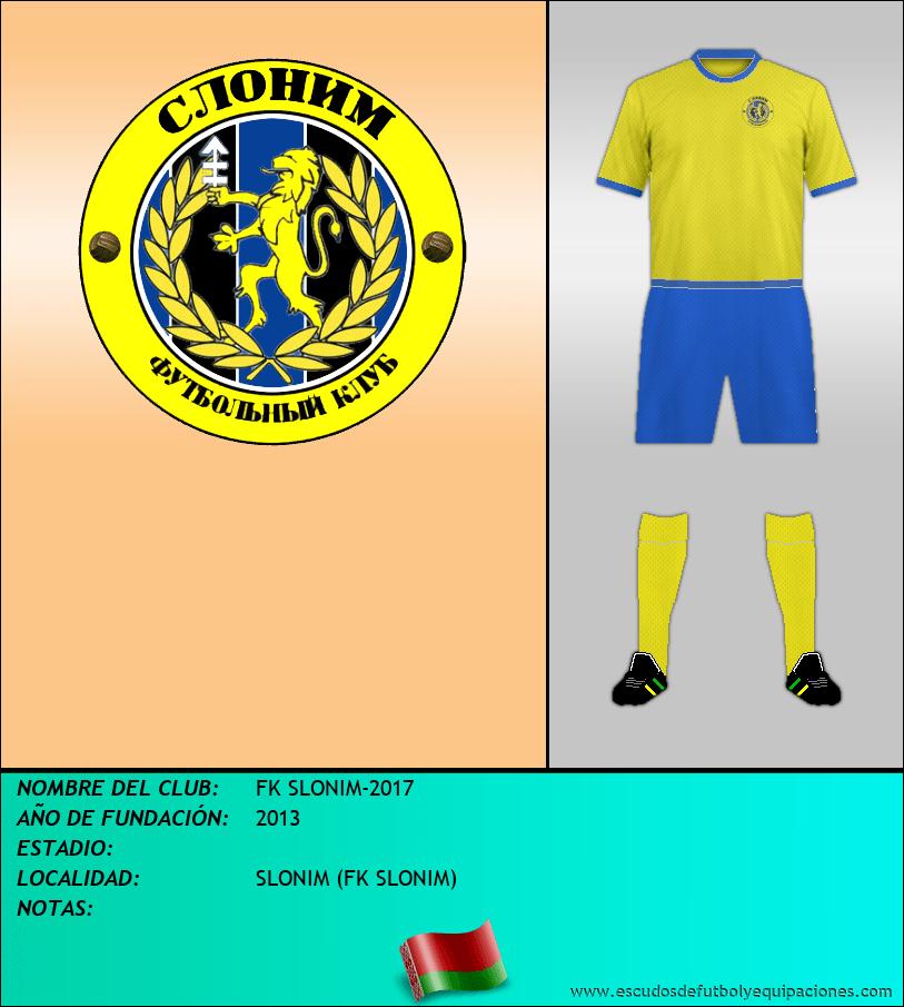 Escudo de FK SLONIM-2017