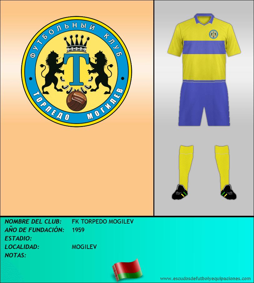 Escudo de FK TORPEDO MOGILEV