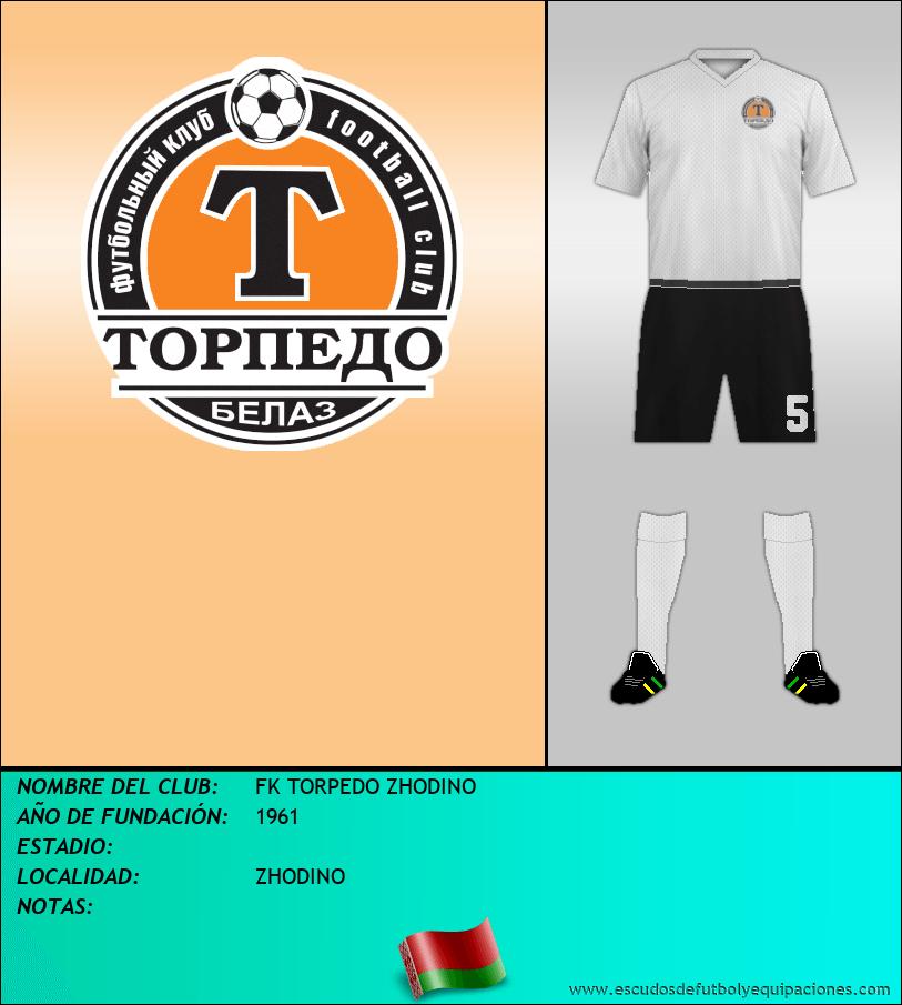 Escudo de FK TORPEDO ZHODINO