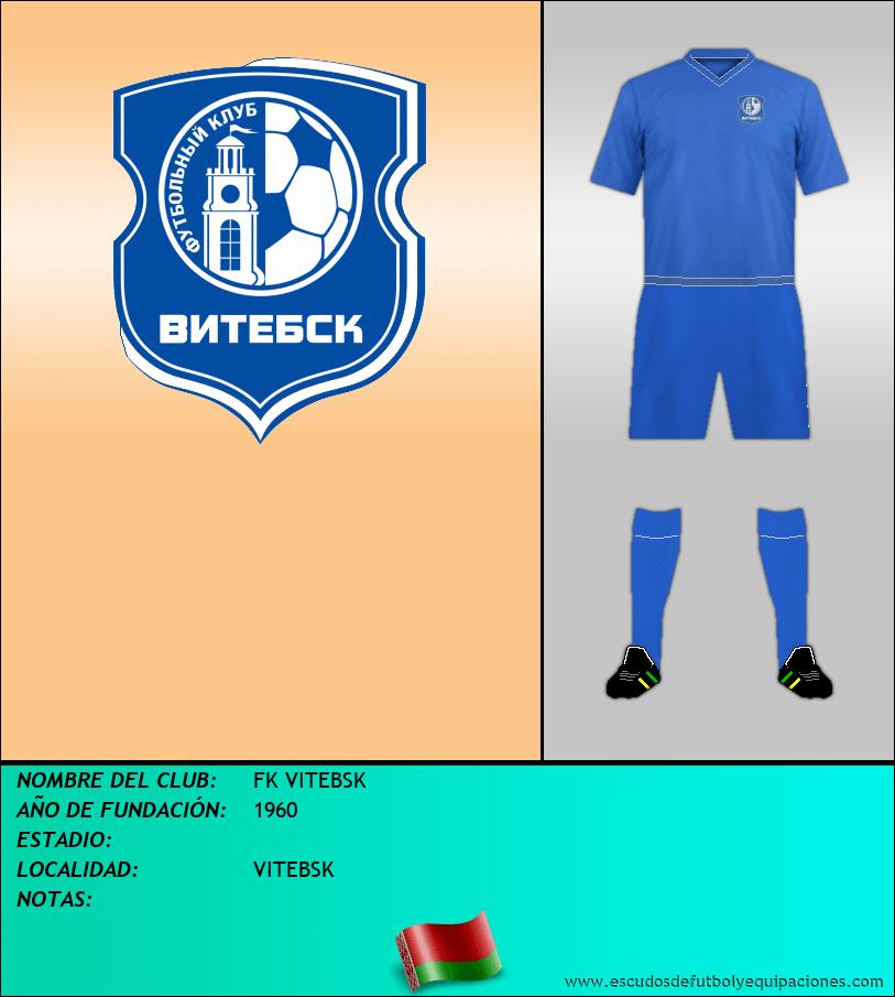 Escudo de FK VITEBSK