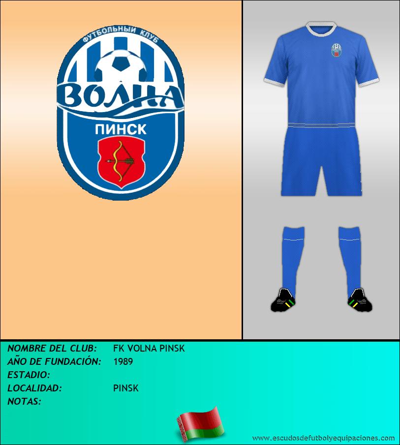 Escudo de FK VOLNA PINSK
