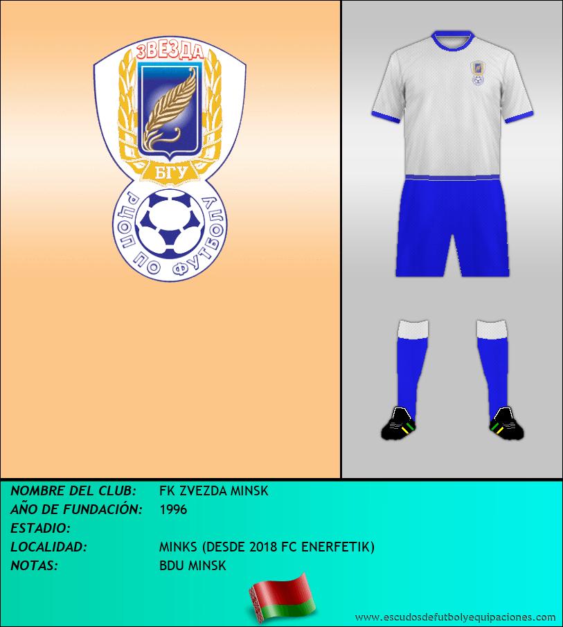 Escudo de FK ZVEZDA MINSK