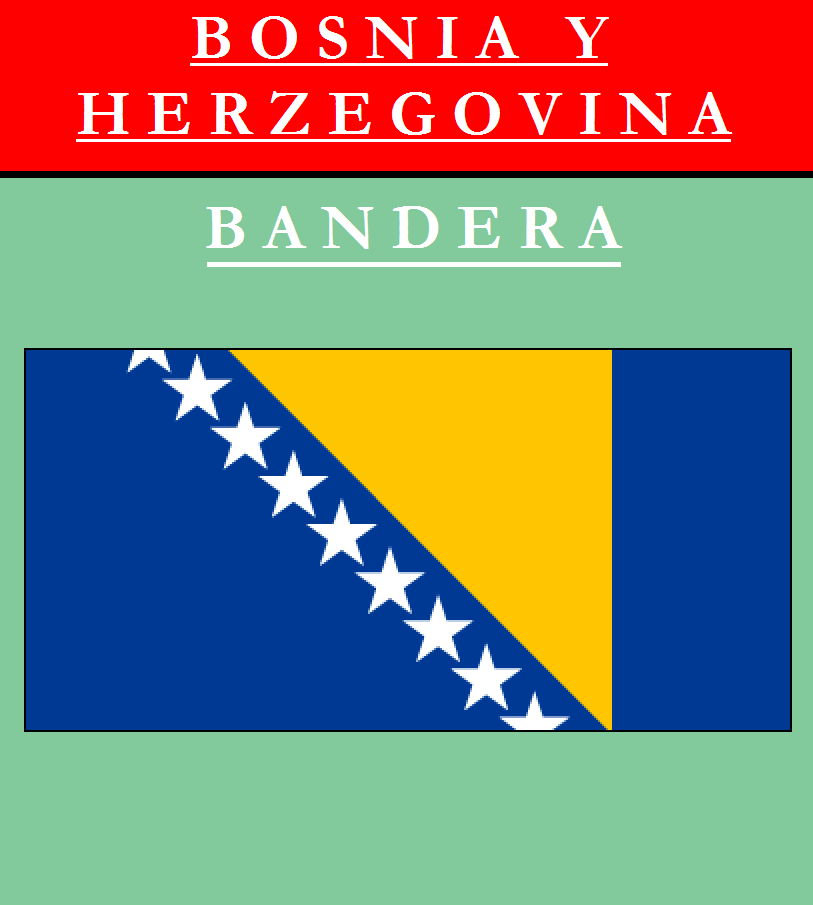 Escudo de BANDERA DE BOSNIA