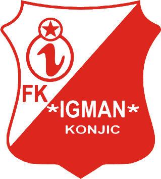 Escudo de FK IGMAN (BOSNIA)