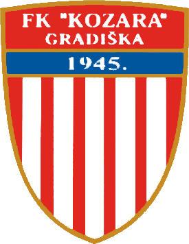 Escudo de FK KOZARA GRADISKA (BOSNIA)