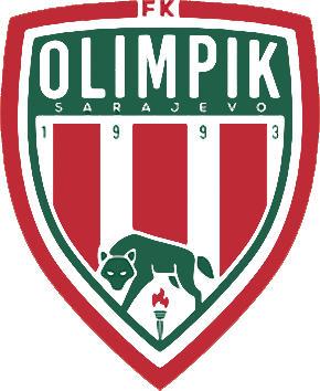 Escudo de FK OLIMPIK SARAJEVO (BOSNIA)