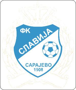 Escudo de FK SLAVIJA SARAJEVO (BOSNIA)