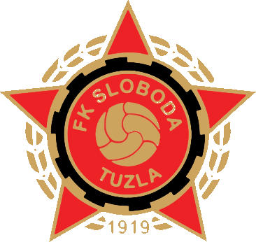 Escudo de FK SLOBODA TUZLA (BOSNIA)