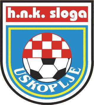 Escudo de HNK SLOGA USKOPLJE (BOSNIA)