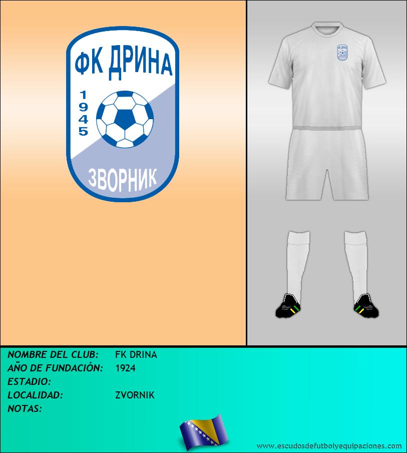 Escudo de FK DRINA