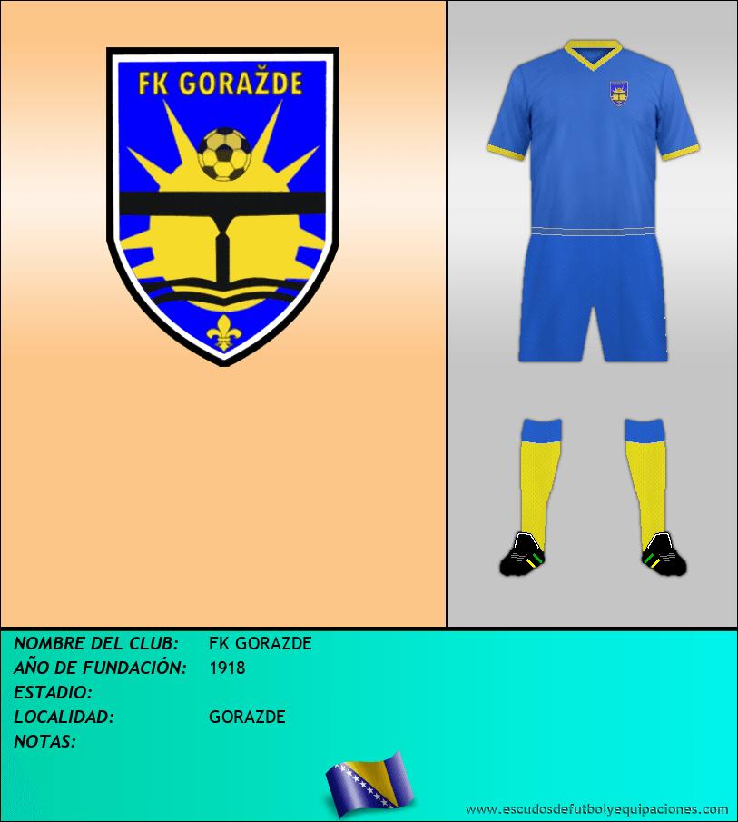 Escudo de FK GORAZDE