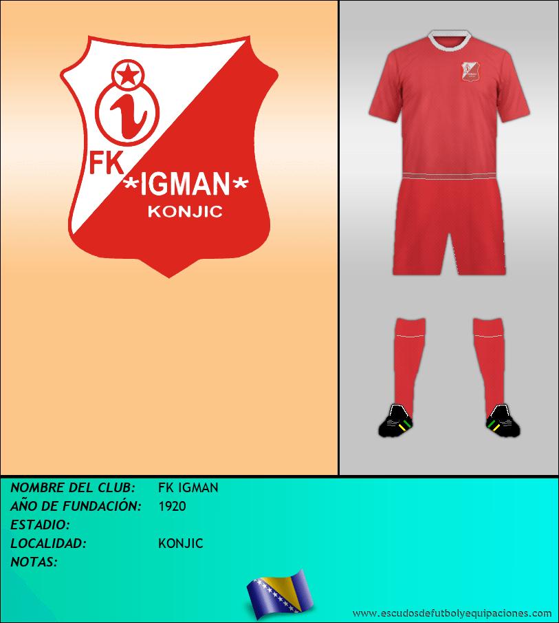 Escudo de FK IGMAN