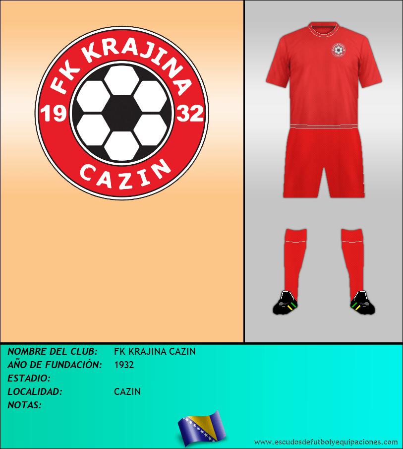Escudo de FK KRAJINA CAZIN