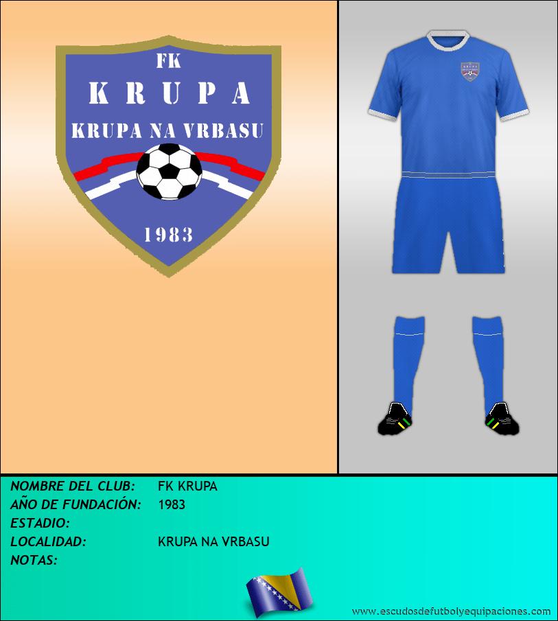 Escudo de FK KRUPA