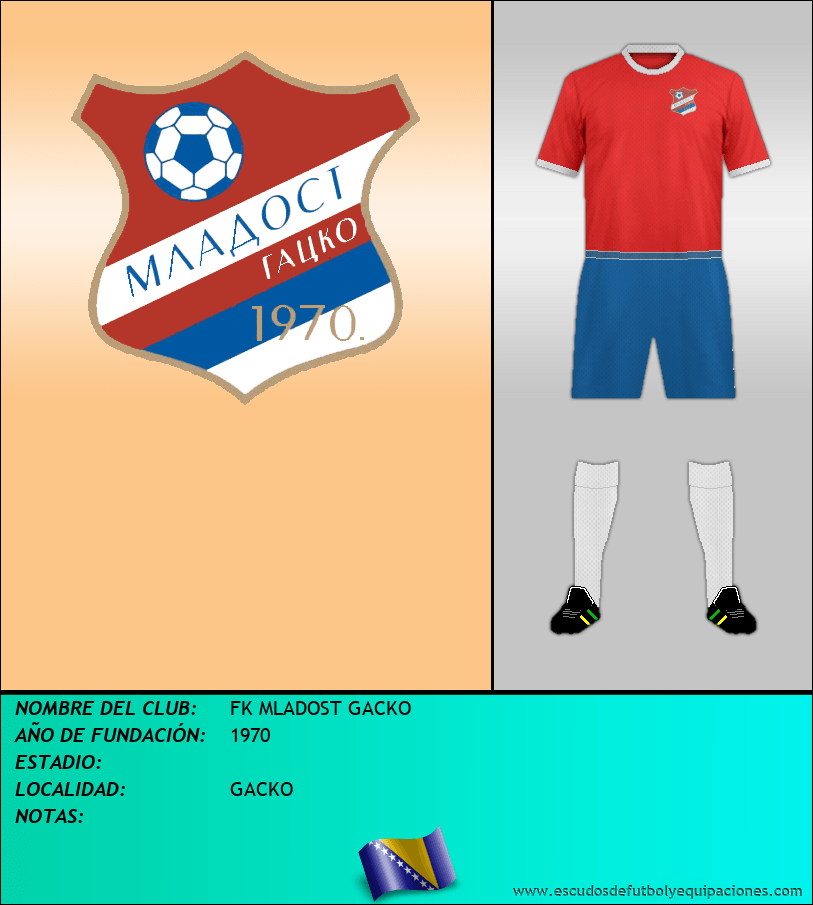 Escudo de FK MLADOST GACKO