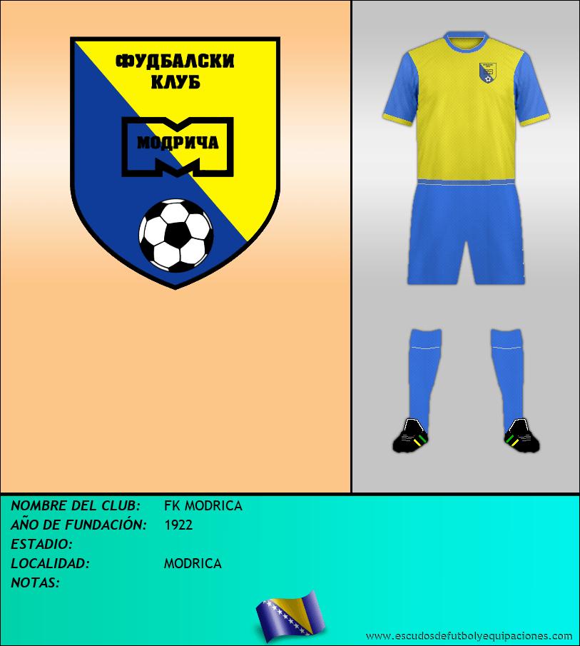 Escudo de FK MODRICA