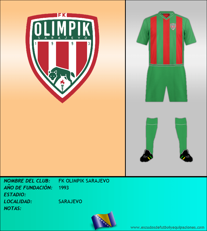 Escudo de FK OLIMPIK SARAJEVO