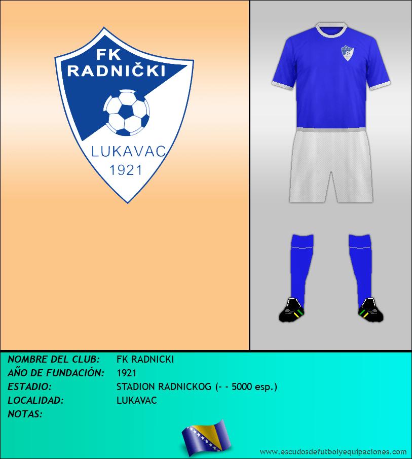 Escudo de FK RADNICKI