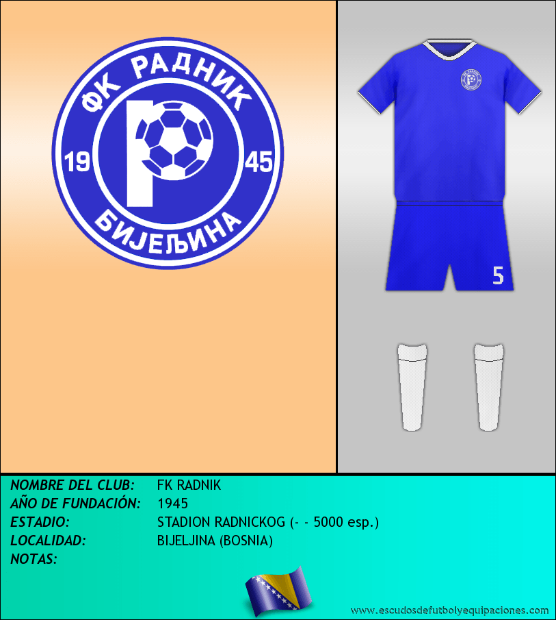 Escudo de FK RADNIK