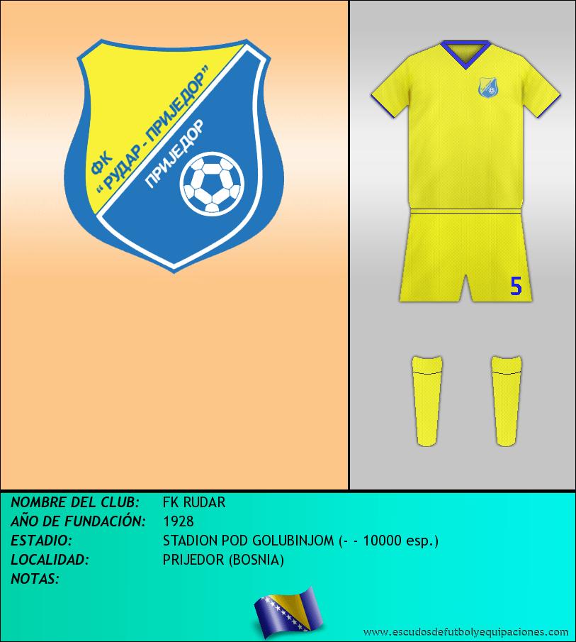 Escudo de FK RUDAR