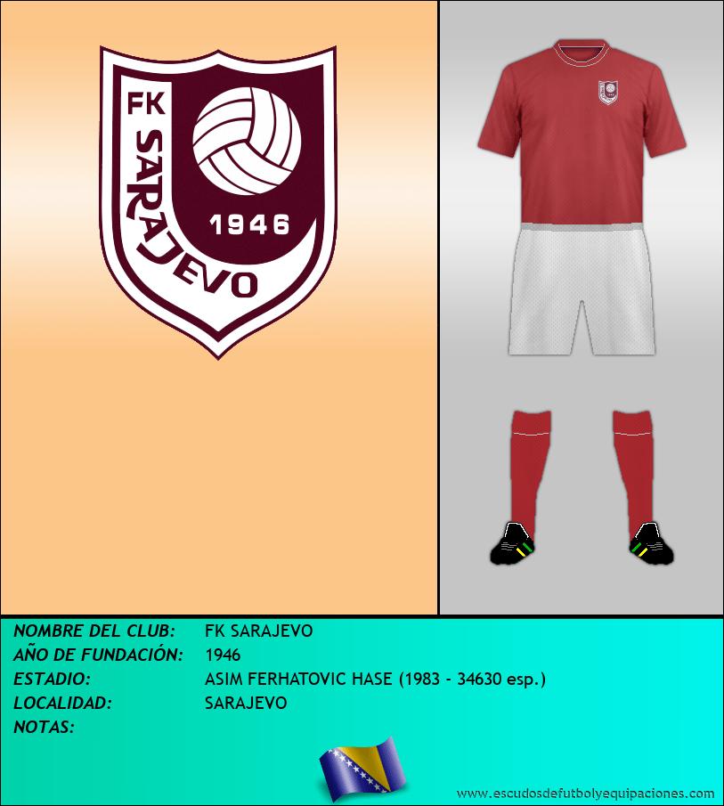 Escudo de FK SARAJEVO