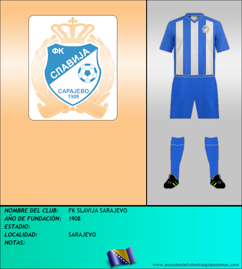 Escudo de FK SLAVIJA SARAJEVO