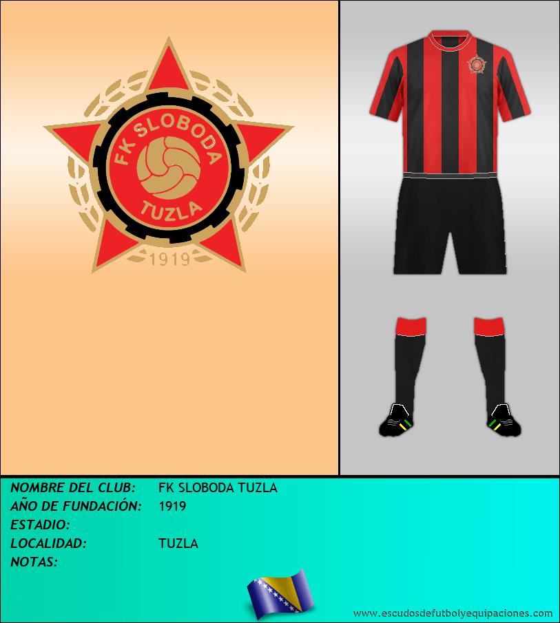 Escudo de FK SLOBODA TUZLA