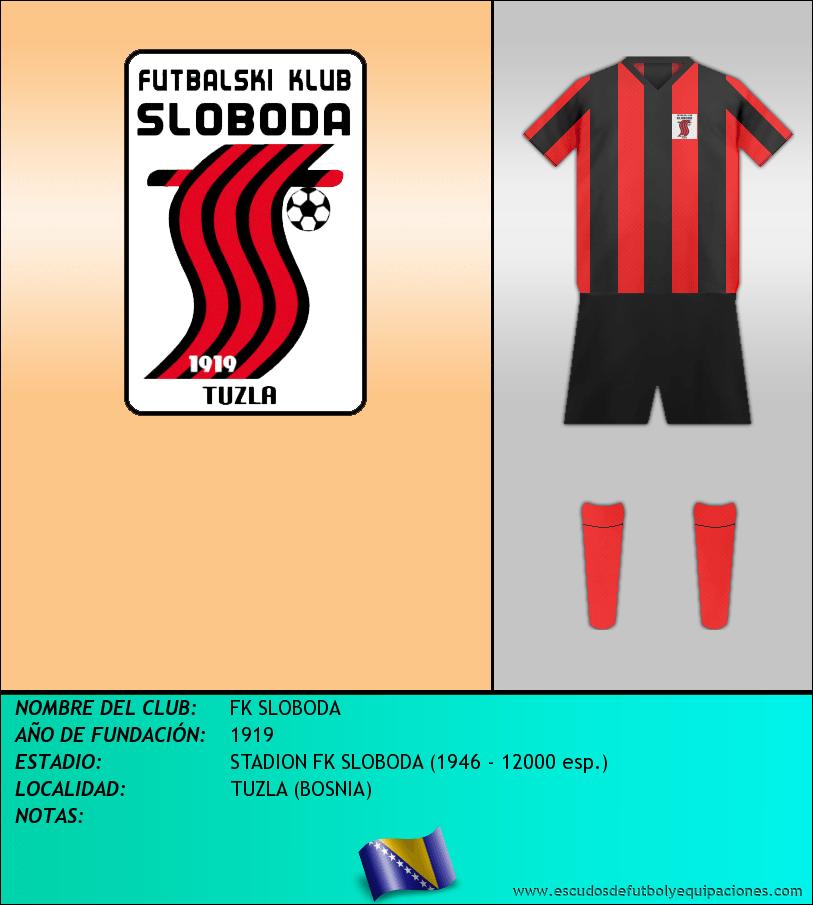 Escudo de FK SLOBODA