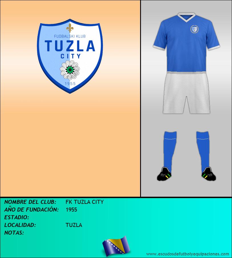 Escudo de FK TUZLA CITY