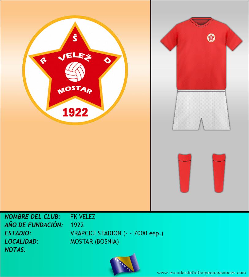 Escudo de FK VELEZ