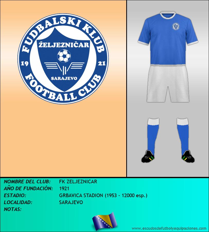 Escudo de FK ZELJEZNICAR