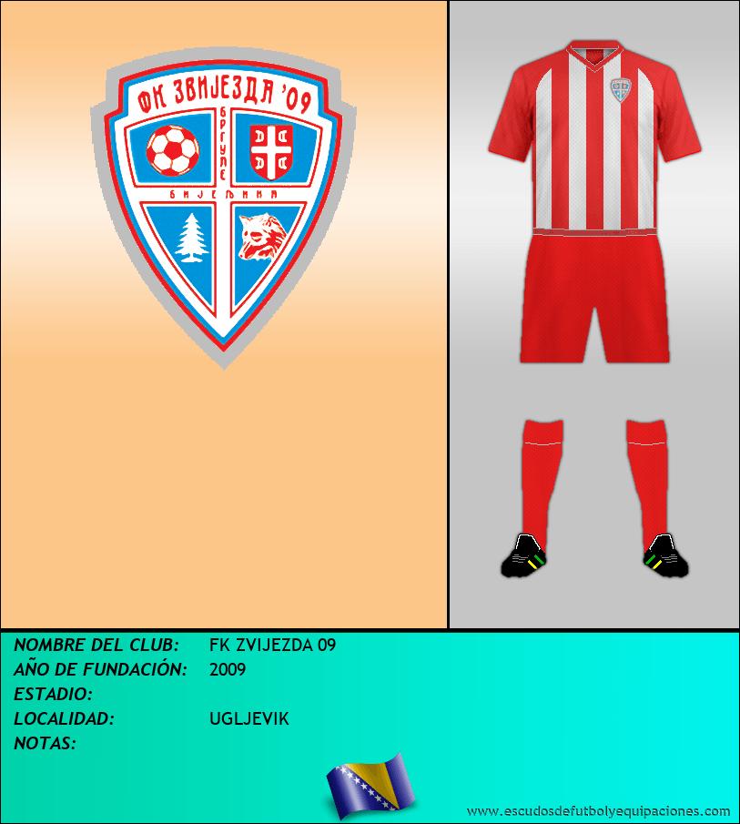 Escudo de FK ZVIJEZDA 09