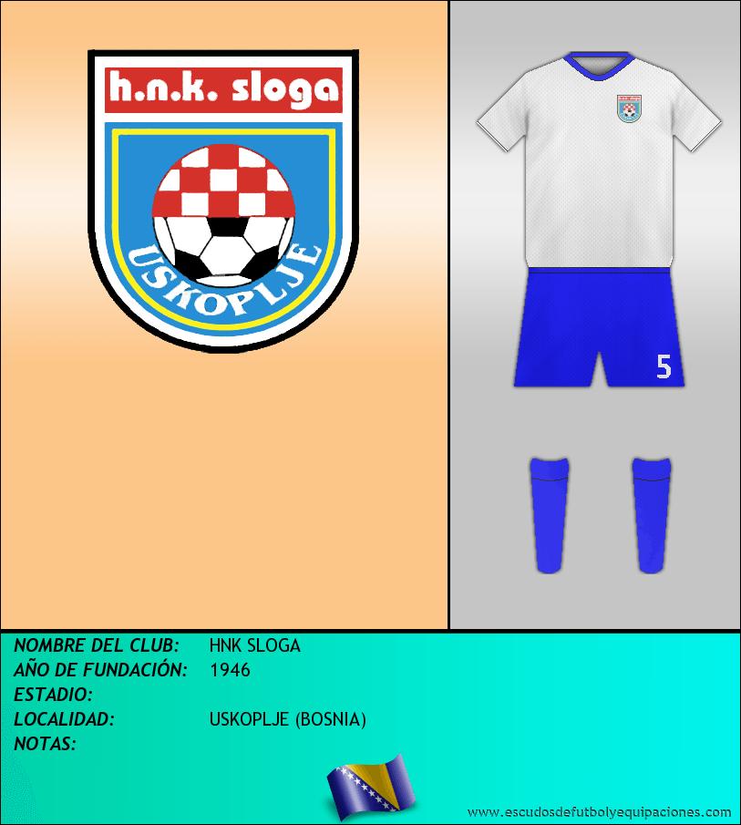 Escudo de HNK SLOGA